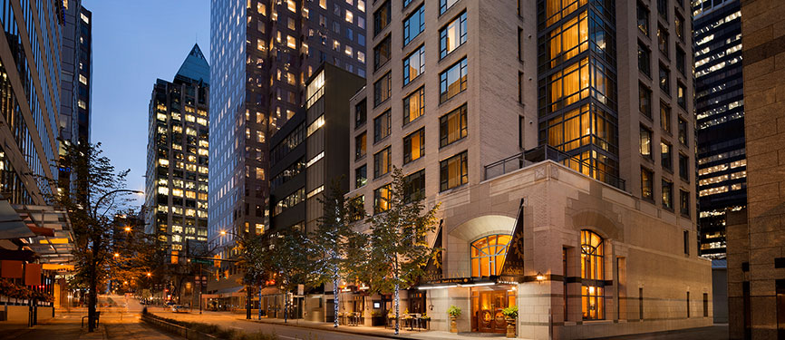 Downtown Vancouver Luxury Boutique Hotels In British Columbia Bc Canada Hotel Le Soleil