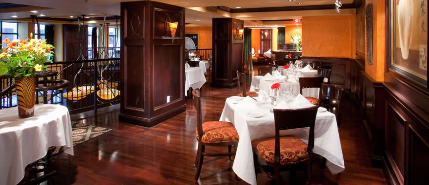 Restaurants in vancouver the copper chimney hotel le for Best private dining rooms vancouver